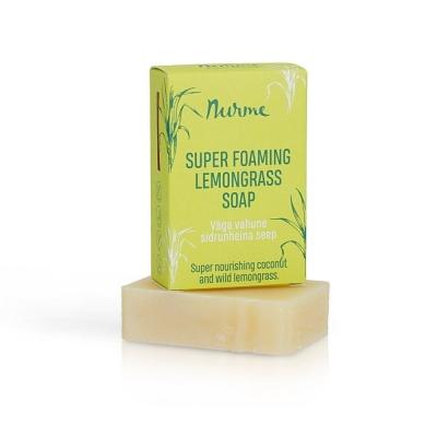 Väga vahune sidrunheina seep 100g