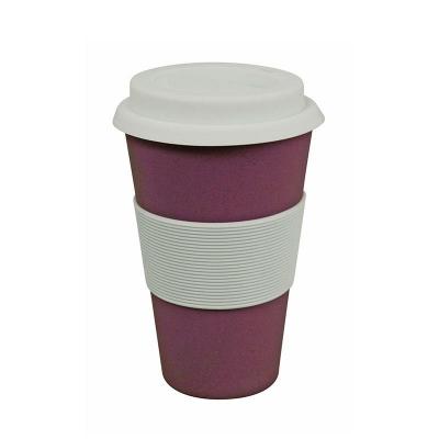 Korduvkasutatav kohvitops, lilla
