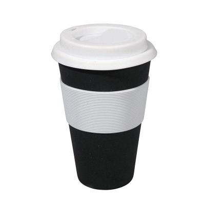 Korduvkasutatav kohvitops, must