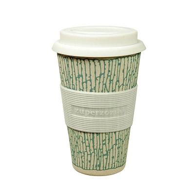 Korduvkasutatav kohvitops, sinine muster