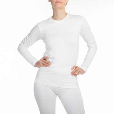 Pikkade varrukatega pluus, valge