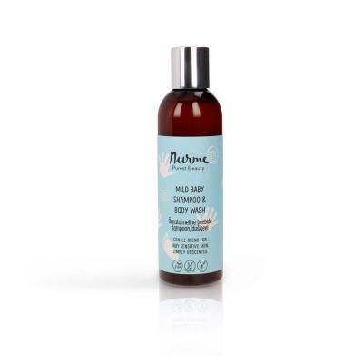 Õrnatoimeline beebide šampoon/dušigeel 200 ml
