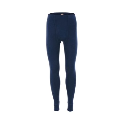 Meeste pikad siidivillased püksid, petroolsinine