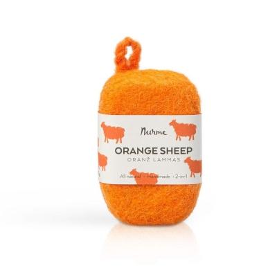 Oranž lammas – vilditud seep 80 g