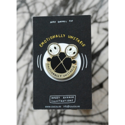 Emotionally Unstable Pin